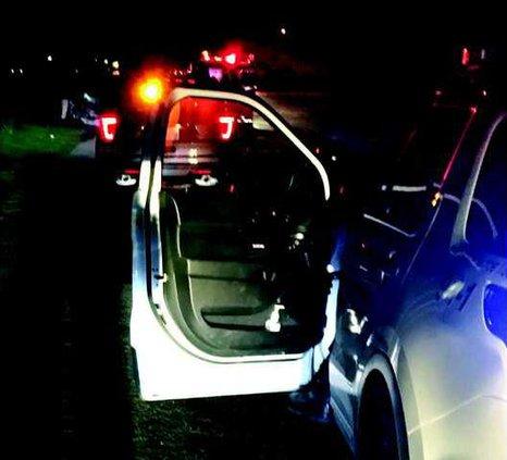 body in car fire