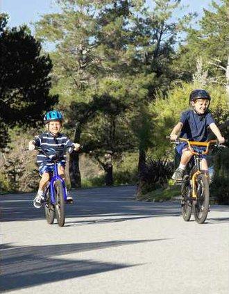 Bike to school pix