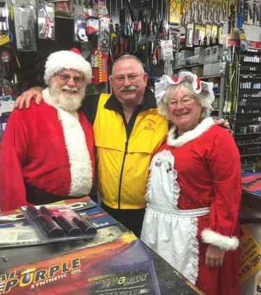 Santa visit 12-28