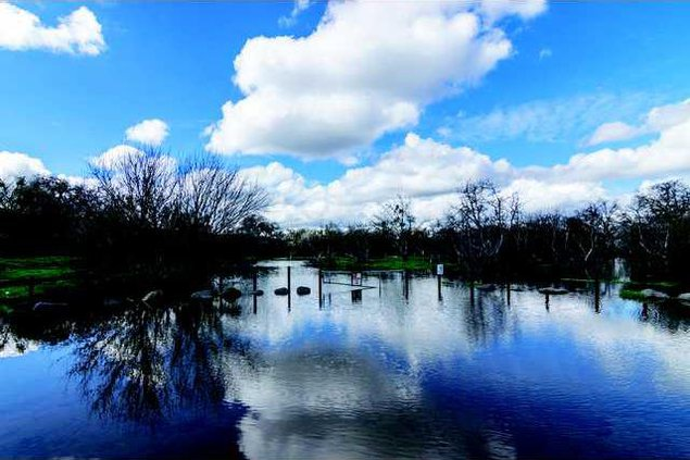 Ceres Regional Park Flood Feb18 2017-1