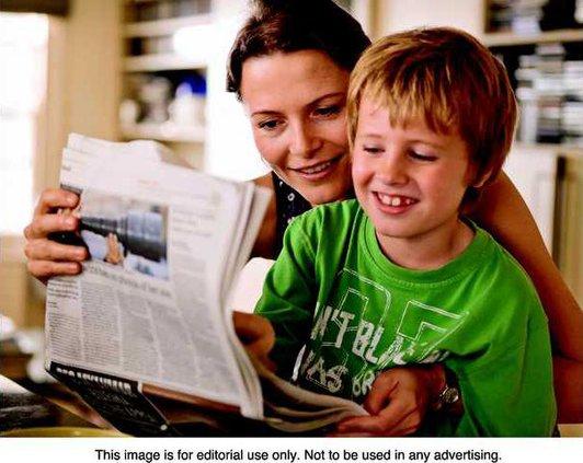 Newspaper pix