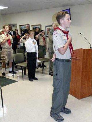 Scout Pledge pix