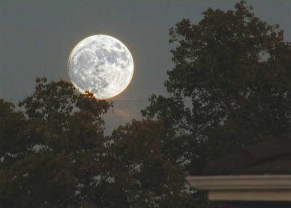 Supermoon pix