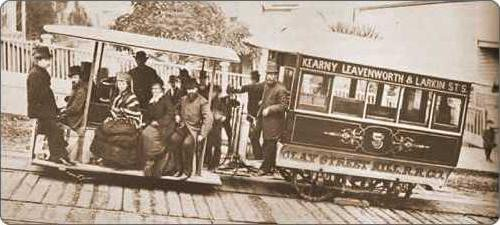 old cable car photo