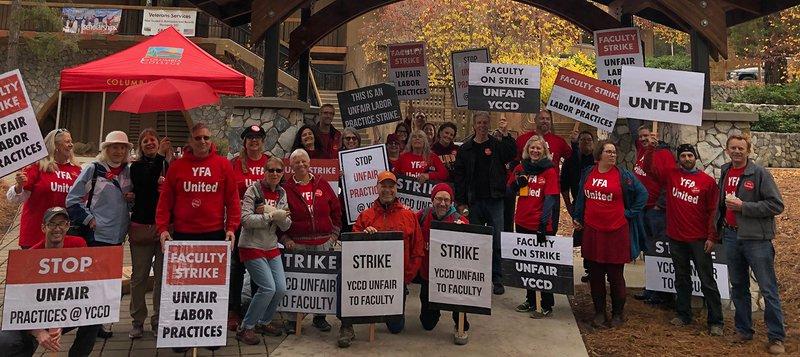 Columbia college strike