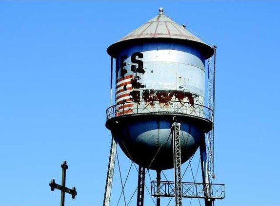 Water tower eyesore