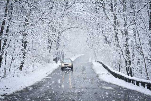 winter road closure