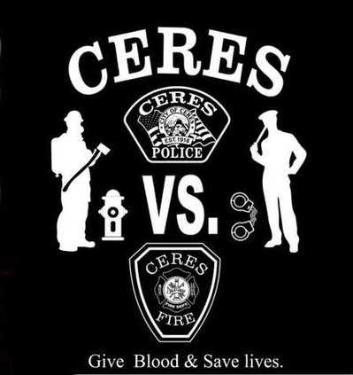 Ceres battle of badge blood drive