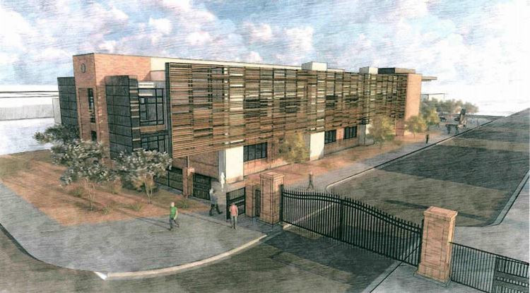 THS science building image