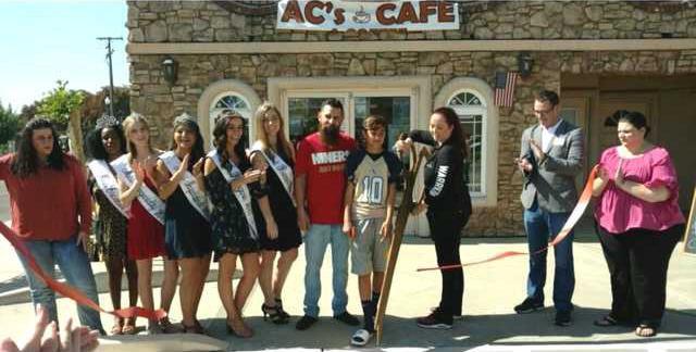 ac CAFE ribbon