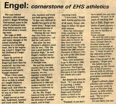 Engel story