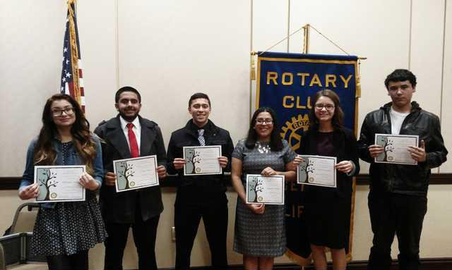 Ceres Rotary Speech Contest Group Pic 1 22 16