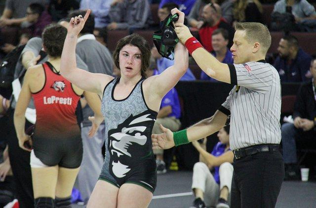 state wrestling Lilly Freitas