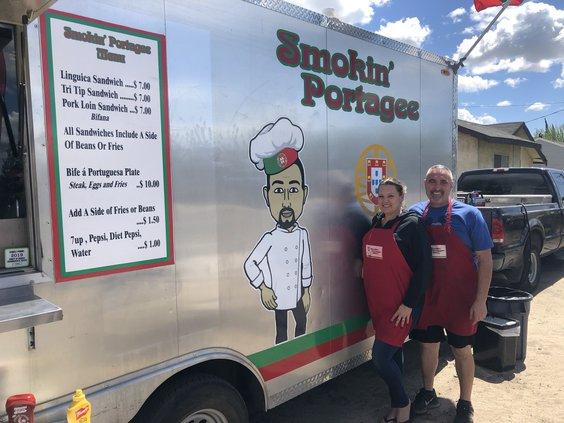 Smokin Portagee Food Truck