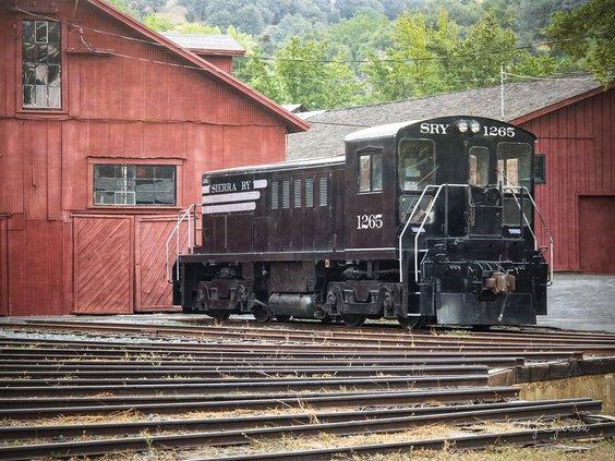 Railtown train