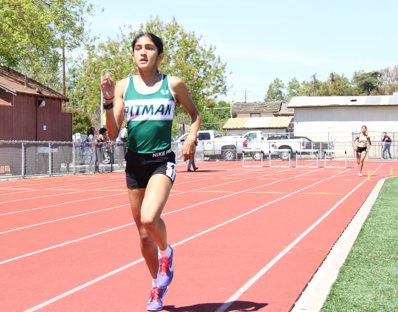 pitman girls track