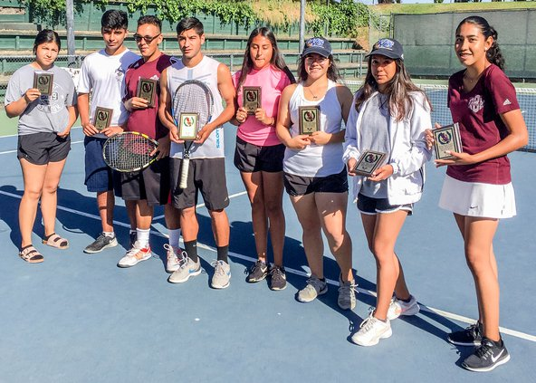 Tennis Team Closes Out Season On Top Of Tvl Riverbank News See more of r tennis on facebook. tennis team closes out season on top of