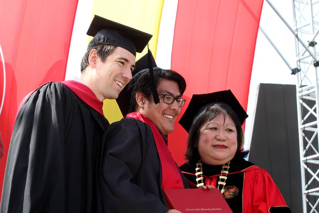 CSUS graduation Harders
