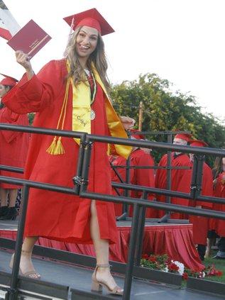 Shania Evans grad