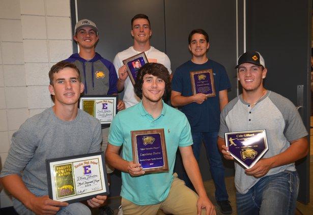 EHS Varsity baseball awards