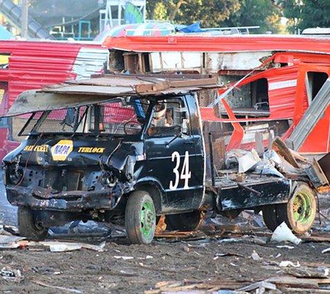 Destruction Derby Karlie Mathews