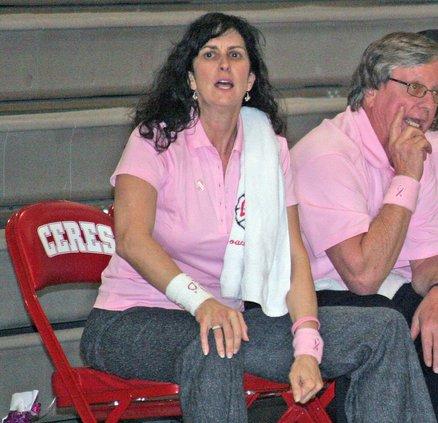 basketball head coach Shawna Nunes