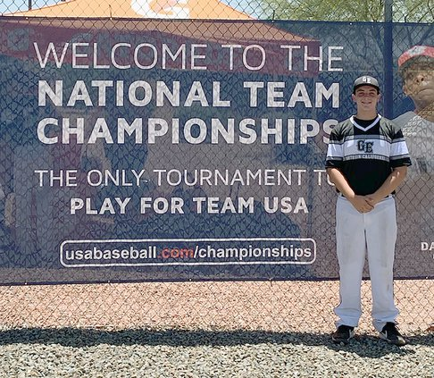 Gabrial Lopez suited up for the Walnut Creek-based Golden Era 15-and-under college development team at the USA Baseball West National Team Championships earlier this month in Arizona.
