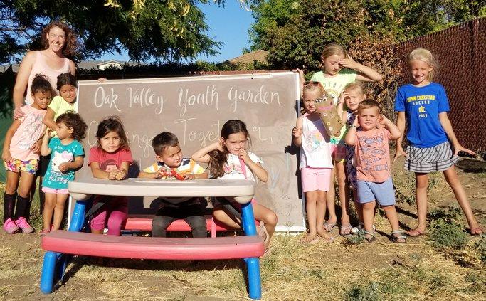 Ripon youth raise food