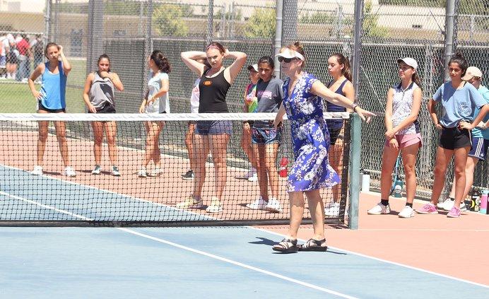 Turlock girls tennis