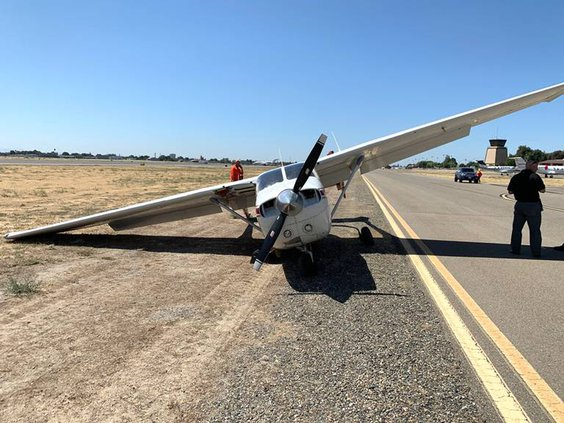 Plane crash Modesto