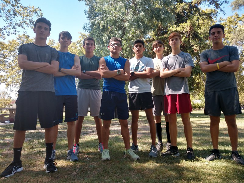 Turlock boys cross country