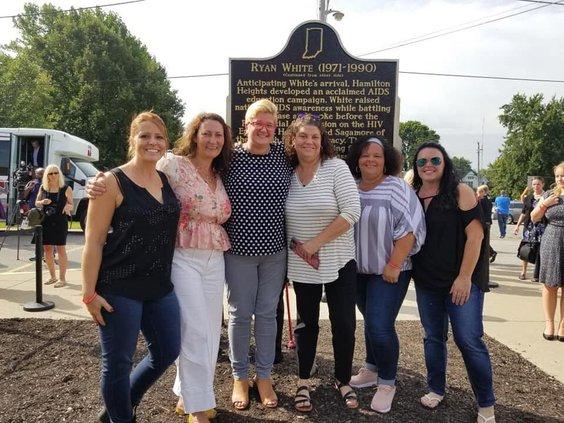 Ryan White historical marker