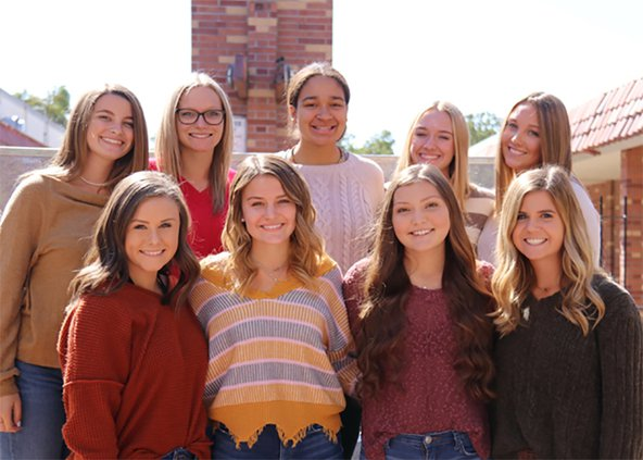 Turlock High homecoming queen candidates