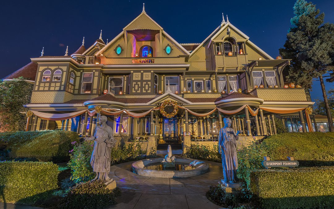 2020 Winchester Mansion Halloween Tours Get 'Unhinged': Frightful Halloween Tour At Winchester Mystery