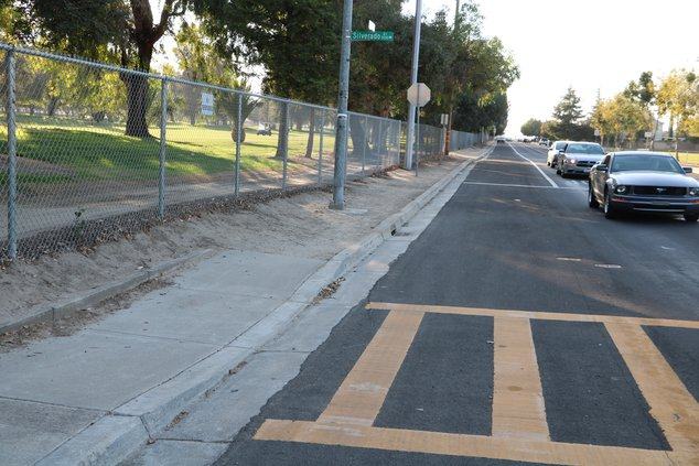 YG sidewalk