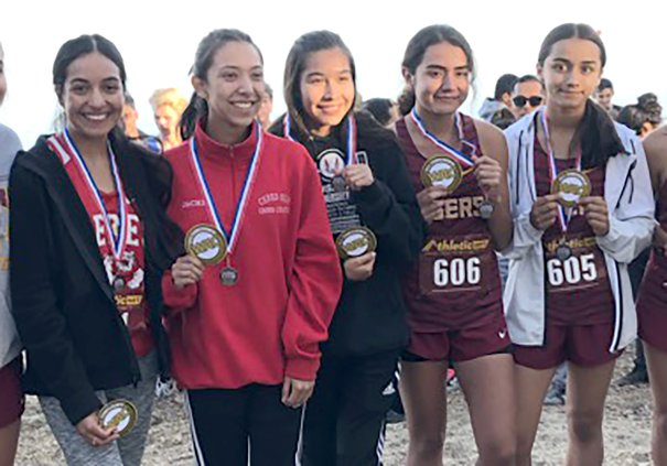 Ceres High varsity girls cross country