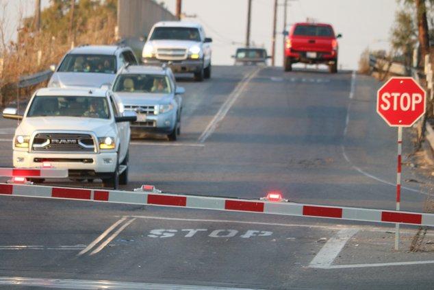 Austin Road overcrossing