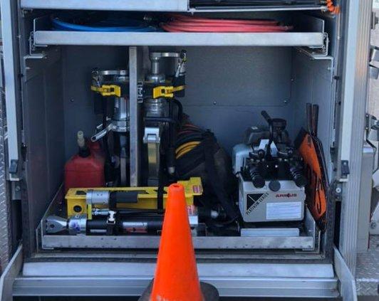 stolen fire equipment