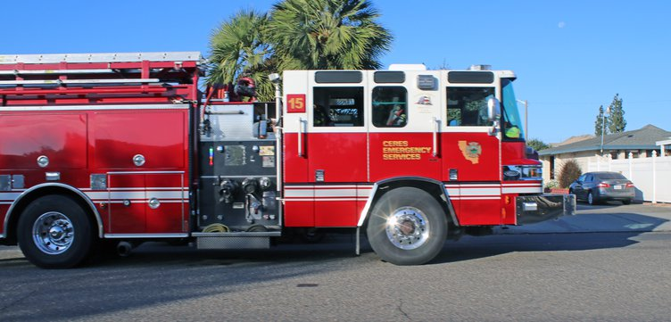 Ceres fire truck