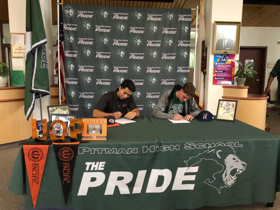 Pitman high signing