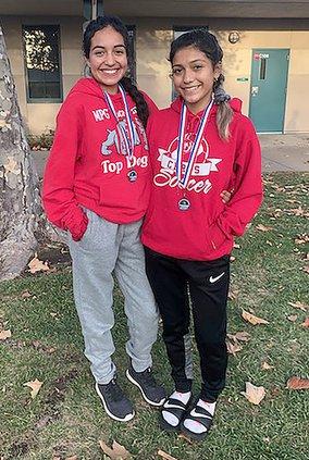 Karina Baez and Esmeralda Garcia