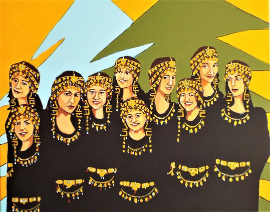 Assyrian women