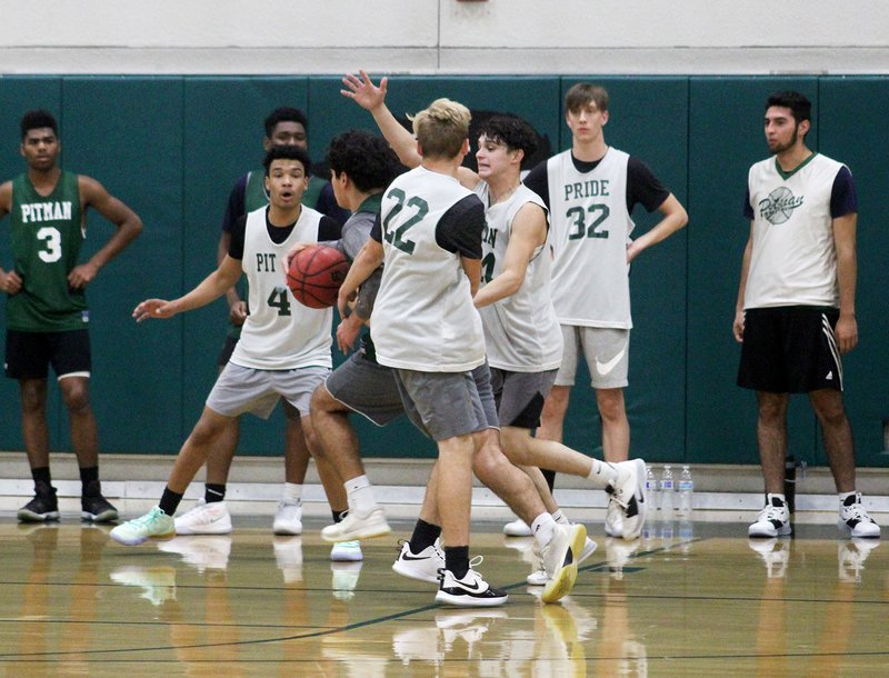 Pitman boys basketball