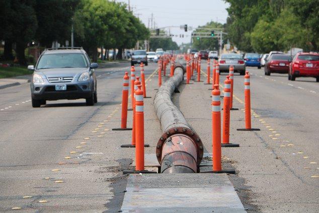 sewer work