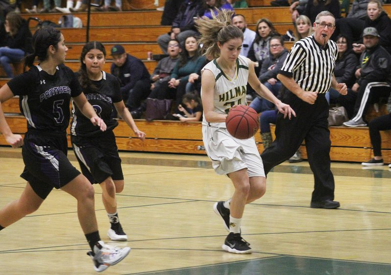 Hilmar girls basketball