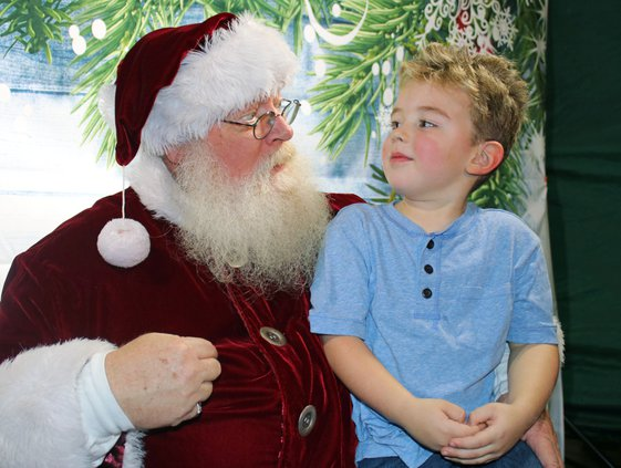 Santa with Gerry McCay