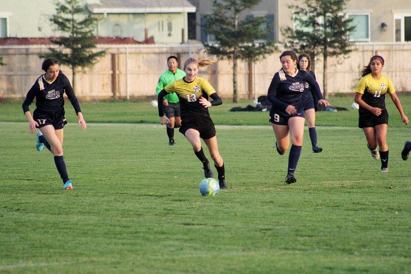 Hughson girls soccer