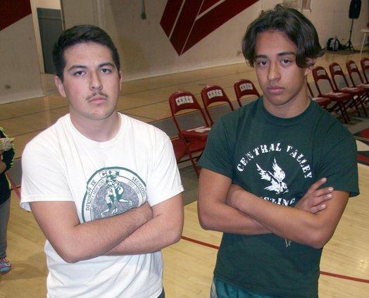 Thomas Carrillo and Ruben Valenzuela