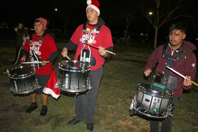 students drummers