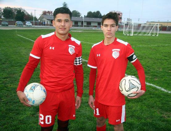 Victor Hurtado and Hugo Mercado